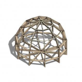 Каркас купольной бани со склада в Москве-5630265