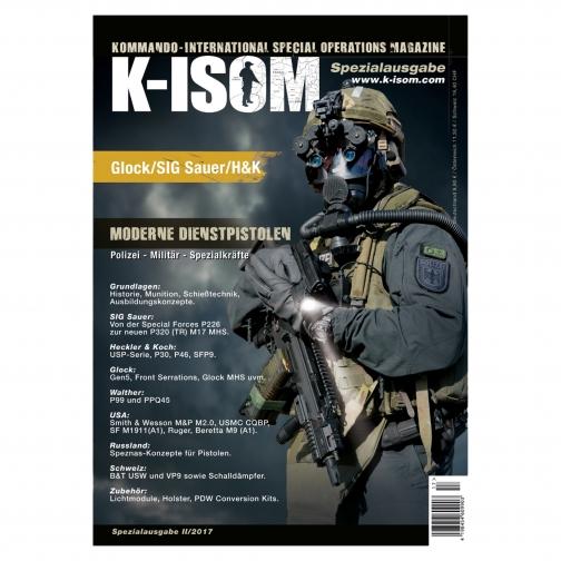 K-ISOM Журнал Kommando Magazin K-ISOM Spezial II/2017 Moderne Dienstpistolen-9239653