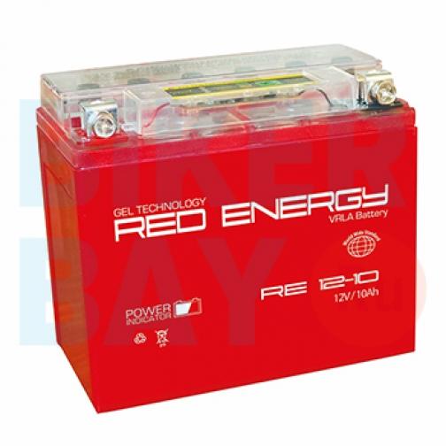 Аккумуляторная батарея 12V10Ah (137x77x135) (гелевая, необслуж.) RED ENERGY-6403465