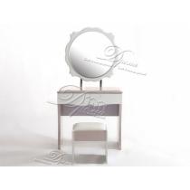 туалетный столик novita-001 какао с белым