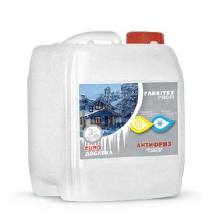 Добавка противоморозная для бетона и строительных смесей FARBITEX Profi, 10 л-6767299