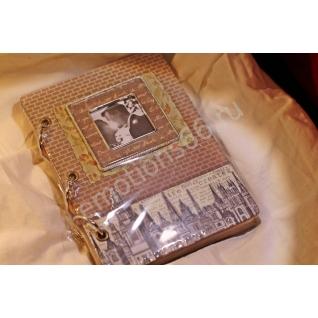 Записная книжка ТВ А6 на кольцах состареные лицы-873756