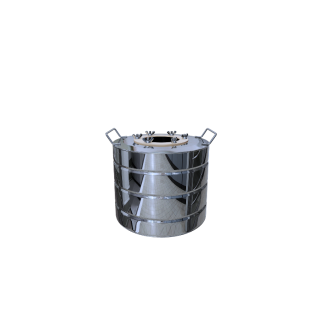 Перегонный куб с ребрами жесткости 15 литров-37655650