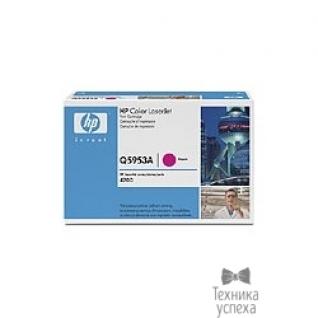 Hp HP Q5953A Картридж, Magenta Color LaserJet 4700, (10000стр.)