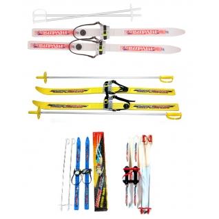 """Детские лыжи с креплениями """"Вираж-спорт"""" MAXiSPORT-37714448"""