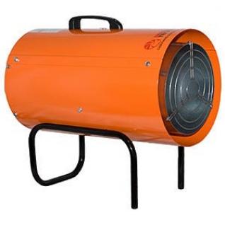 Газовая тепловая пушка КГ на сжиженном газе 38, апельсин-2062520