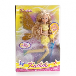 Кукла-фея Kaibibi в желтом наряде-37712604