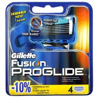 Gillette Fusion PROGLIDE 4 шт-4999690
