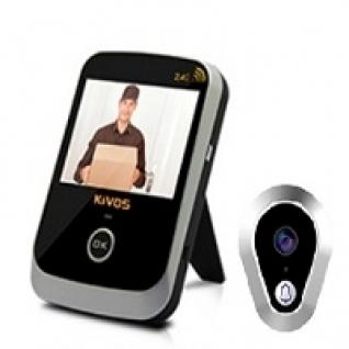 Беспроводной видеоглазок в дверь с записью KIVOS KDB 307-5006165
