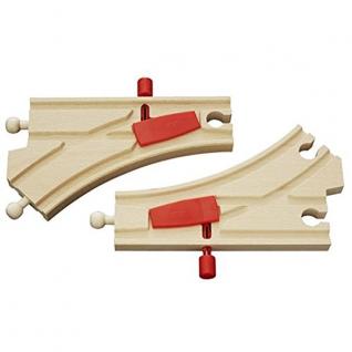 Железнодорожное полотно с переключателем направления, 2 детали Brio-37707693