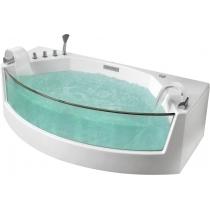 Акриловая ванна Gemy с гидромассажем (G9079)