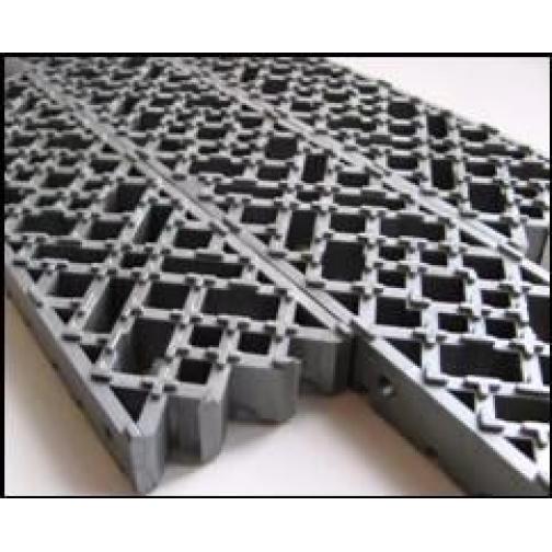 Модульное напольное грязесборное покрытие толщ. 16 мм-822430