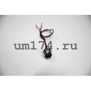 Гнездо для зарядки аккумулятора на героскутере-1026051