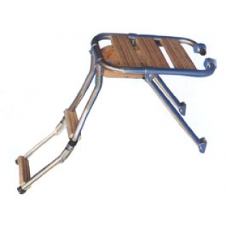 Платформа тиковая Ceredi Mini с лестницей (7122)