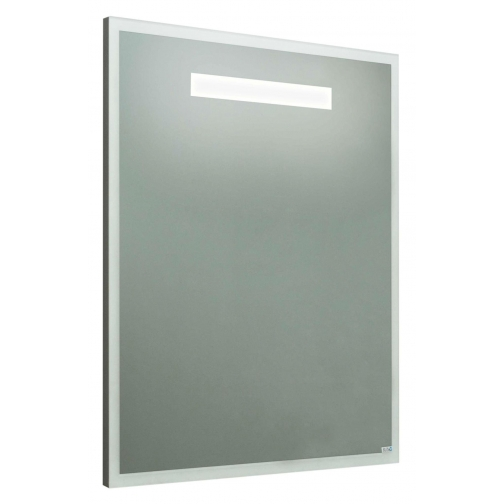 Зеркало Runo Модерн 60, белое-6794450