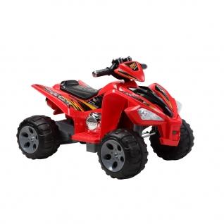 Электрический квадроцикл AMS (аккум.), красный Пламенный мотор-37743504