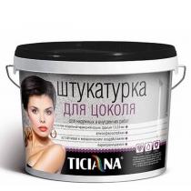 Штукатурка для цоколя Ticiana папоротник осенний, 9 л.