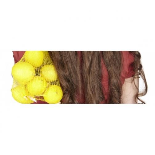 Сетка овощная, 40кг, лимонная, 49х77-6435822