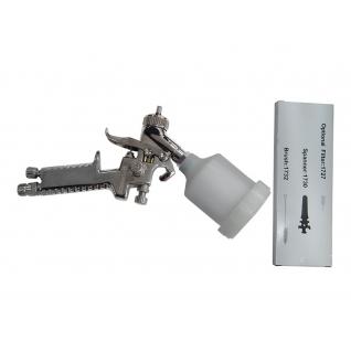 Краскораспылитель HVLP с верхним пластиковым бачком (бачок 250мл, сопло 0.8мм, 127л/мин) Forsage
