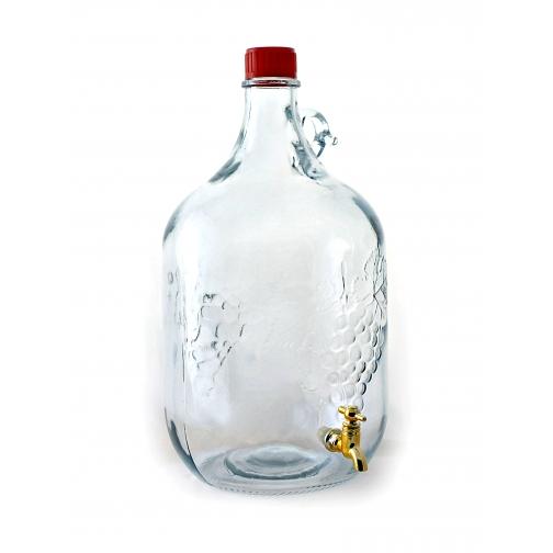 """Бутыль винная с краном объёмом 5 литров """"Сицилийская лоза""""-9224613"""