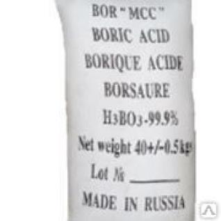 Борная кислота (Россия) 40кг.