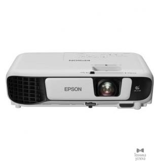 Epson Epson EB-X41 V11H843040 LCD, 1024x768, 3600 ANSI, 15000:1, HDMI, USB, 1x2W, 2.5kg, White-6870434