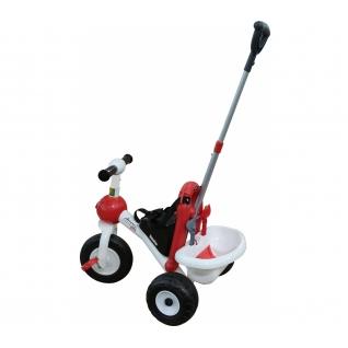 Велосипед 3-х колесный БАЗИК с ручкой и ремешком Полесье-37879951