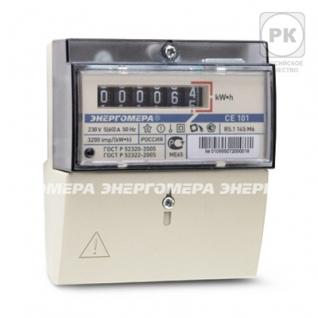 Энергомера Счетчик электроэнергии однофазный однотарифный CE 101 R5.1 145 М6 60/5 Т1 D-1224724