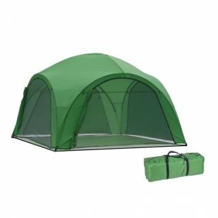 Тент садовый Green Glade 400x400 с сетчатыми стенками (1264)-9154874