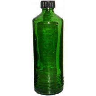 Бутыль стеклянная зеленая 500 мл с крышкой и прокладкой-5000232