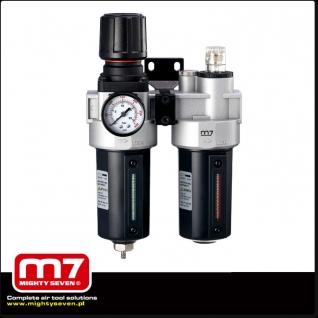 """Блок подготовки воздуха (фильтр + регулятор + маслодобавитель) 1/2"""" M7-6004681"""
