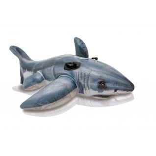 "Надувная игрушка ""Белая акула"", 173 х 107 см Intex-37711566"
