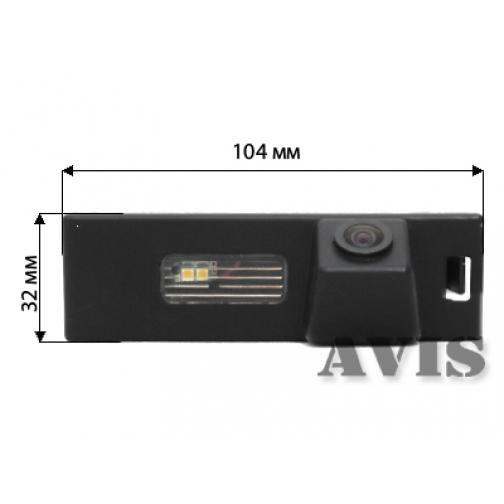 CMOS штатная камера заднего вида AVIS AVS312CPR для BMW 1 (#006) Avis-832892