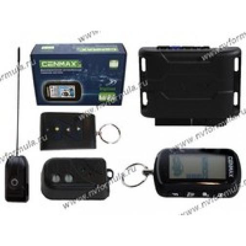 Автосигнализация Cenmax Vigilant V-10 D ж/к обратная связь турбо-таймер-9060207