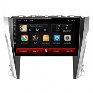 """Головное устройство Subini TOY102 с экраном 10,2"""" для Toyota Camry 2015-2017 Subini-9061409"""