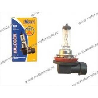 Лампа галоген 12V Н8 35W PGJ19-1 KRAFT 700018-415918