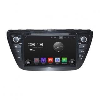 Штатная магнитола для Suzuki SX4 2014+ CARMEDIA KD-8073-P3-7 на Android 7.1-37279616