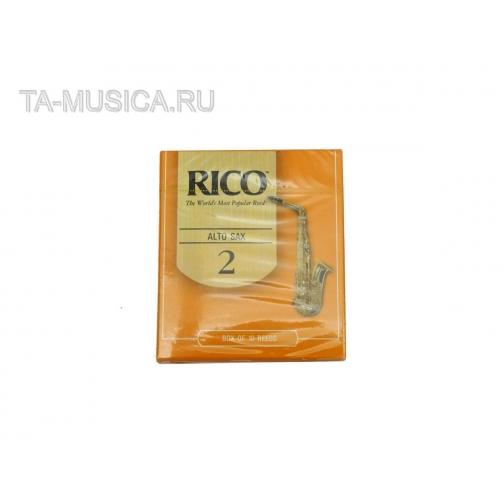 Трости д/саксофона альт №2 RICO RJA1020-5100133