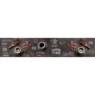 Фартук для кухни АБС Время кофе №57 600х3000х1,5мм-37623244