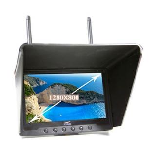 """FlySight 7"""" 1280x800 FPV HD Монитор BLACK PEARL RC801 Lite (без приемника)-1972741"""