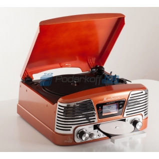 "Ретро-проигрыватель ""Montreux orange""-5864342"
