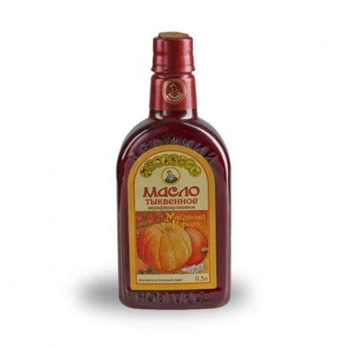 Масло тыквенное «Масляный король», 0.50 л, ПЭТ-822569