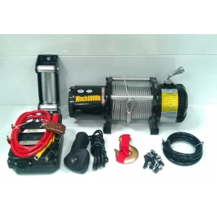 Лебедка автомобильная ATV Electric Winch 12v 6000 LBS 3х контактная-1975859