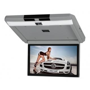 """Автомобильный потолочный монитор 13.3"""" с медиаплеером FarCar-Z004 (серый) FarCar-9061406"""
