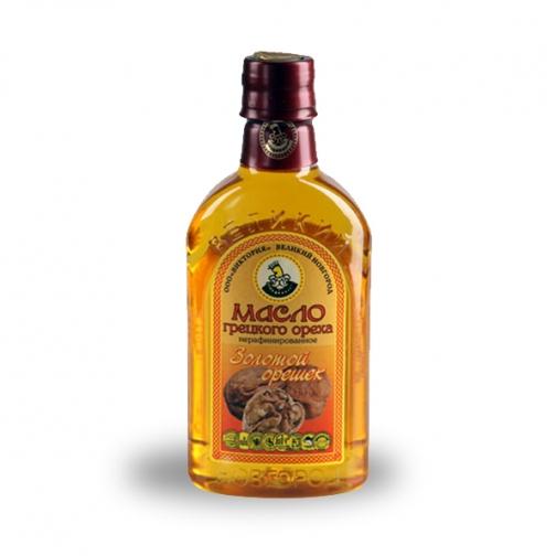 Масло грецкого ореха «Золотой орешек», 0.35 л, ПЭТ-822591