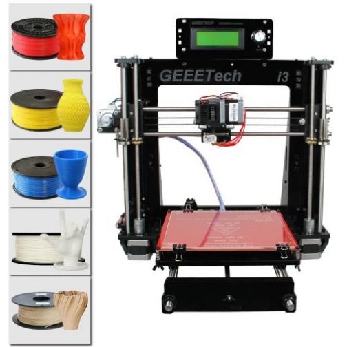 3D принтер Acrylic Geeetech Prusa I3 pro B 3D Printer DIY kit-6011745