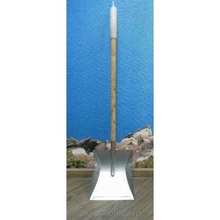 Совок с длинной деревянной ручкой (60см), Оцинк (уп.5 шт)-822616