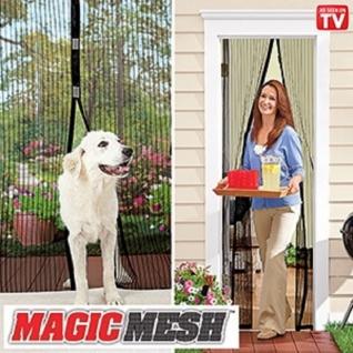 Москитная чудо-занавеска на магнитах Magic Mesh 18 магнитов Китай-37456362