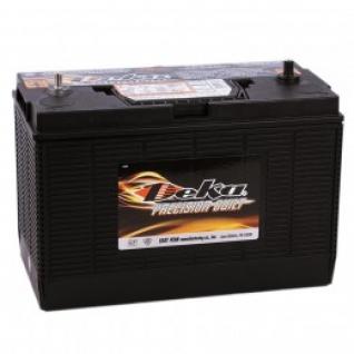 Автомобильный аккумулятор DEKA DEKA 140 (1231MF) универсальная пол. 1000А универсальная полярность 140 А/ч (330x173x240)-6000444