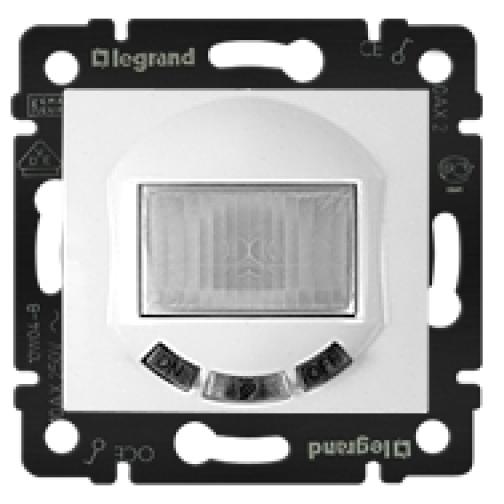 LEGRAND Выключатель с датчиком движения Legrand Valena с нейтралью белый 770089 5076532